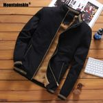 Fleece Pilot Bomber Warm Fashion Baseball Slim Fit Coat Jackets