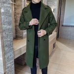 Fashion Classic Trench Caramel Army Trench Slim Fit Coats
