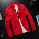 Windbreaker Streetwear Homme Casual Fashion Denim Jackets