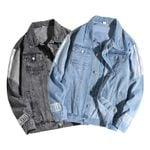 Baseball Denim Fashion High Quality Anti-Shrink Veste Denim Jackets