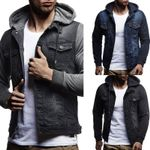 Hooded clothes Fashion Casual Cowboy Denim Jackets