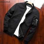 Thin Slim Long Sleeve baseball Windbreaker Zipper Denim Jackets