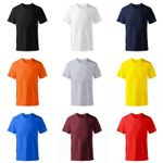 New Solid color fashion cotton Short sleeve Tee Skate Tshirt
