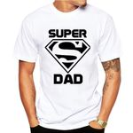 Super dad Sleeve  Shirt Homme Funny T-shirt