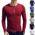 Sleeve O-Neck Casual Fitness Jogging Basic Running Clothing T-Shirts
