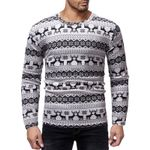 Slim Fit Knittwear ONeck Pullovers Pull Homme Sweaters