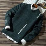 Fashion Casual Strip Block Knitwear Jumper Pullover Sweaters