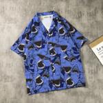 Casual Printed Street Fashion Short Sleeve Shirts