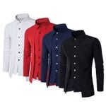 New Arrival Stylish Shirt Long Sleeve Casual Dress Shirts