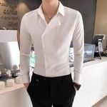 Business Fashion Partial Threshold Formal Dress Shirts