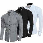 Luxury Casual Formal Slim Fit Business Dress Shirts