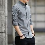 Wear Oxford Spinning Leisure Self-cultivation Dress Shirts