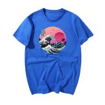 The Great Retro Wave Camisetas Hombre Vaporwave Funny Cool Hip Hop T Shirt