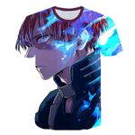 Fashion Anime My Hero Academy Printed Casual  Streetwear Harajuku Style Tshirt