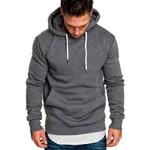 Full Sleeve Sweatshirt Solid Hip Hop Casual Camo Sudaderas Para Hombre Hoodies