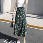 Flower Long Beach Sunny Floral Chiffon Tutu Skirts