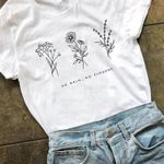 Flowers Garden Farm Soft Ringspun T-shirts
