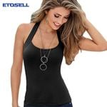 Sleeveless Casual Vest Halter Camis Sexy Clothing Tank Top & Camis