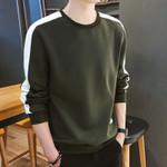Sleeve Sweatshirt Army Sweatshirt  Streetwear Slim Hoodies
