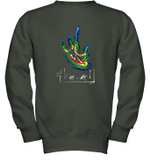 Eye Tool Youth Crewneck Sweatshirt