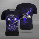 Baltimore Ravens Skull FFS7209