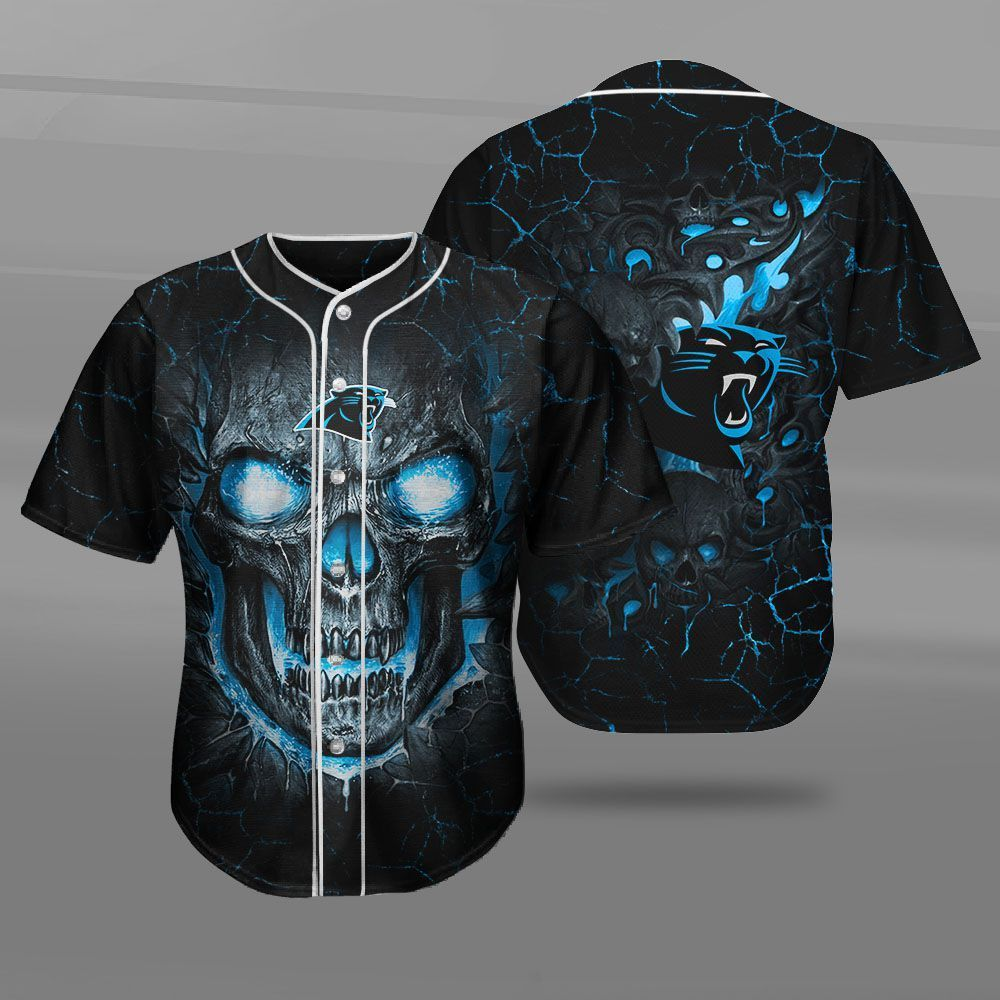 Carolina Panthers Skull FFS7409