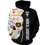 Medical Assistant (MA) 3D Hoodie