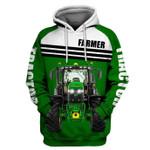 Farmer Tractor Love Job 3D Hoodie