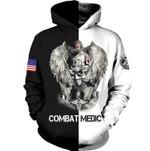 Combat Medic USA Life 3D Hoodie