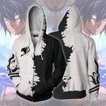 Fairy Tail 3D zipped hoodie