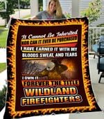SHERPA FLEECE BLANKET - Wildland Firefighter