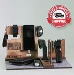 Personalized Army Military charging stand - FREE SHIPPING!