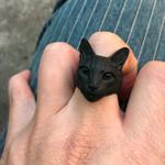 black cat ring