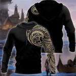 Viking Tattoo Polynesian 3D printed hoodies