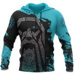 Viking Odin - Blue Pullover Tattoo 3D