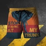 Stop staring at my trunk