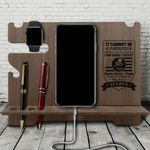 Seabee - Wood Docking Station