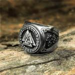 Viking Valknutl Ring