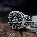 Valknut Symbol  Ring