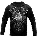 Viking Symbols Tattoo 3D Printed  hoodies