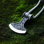 Viking Axe necklace