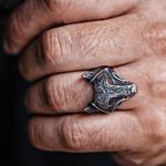 Viking Wolf Ring