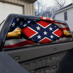 Confederate States of America Rear Window Decal