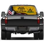 The 2nd Amendment Rear Window Decal