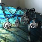 Tree Of Life Hippie Boho Pendant Necklace