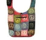 Hippie bag, Cotton Shoulder Bag