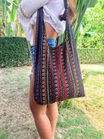 Womens Cross Body Bag, Boho Hippie Bag