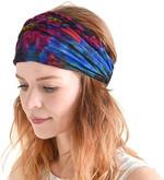 Womens Boho Hippie Mens Psychedelic Headbands