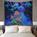 Trippy Tapestry Mushroom Bedroom Decor