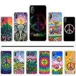Hippy Hippie Psychedelic Art Peace Phone Case cover Shell